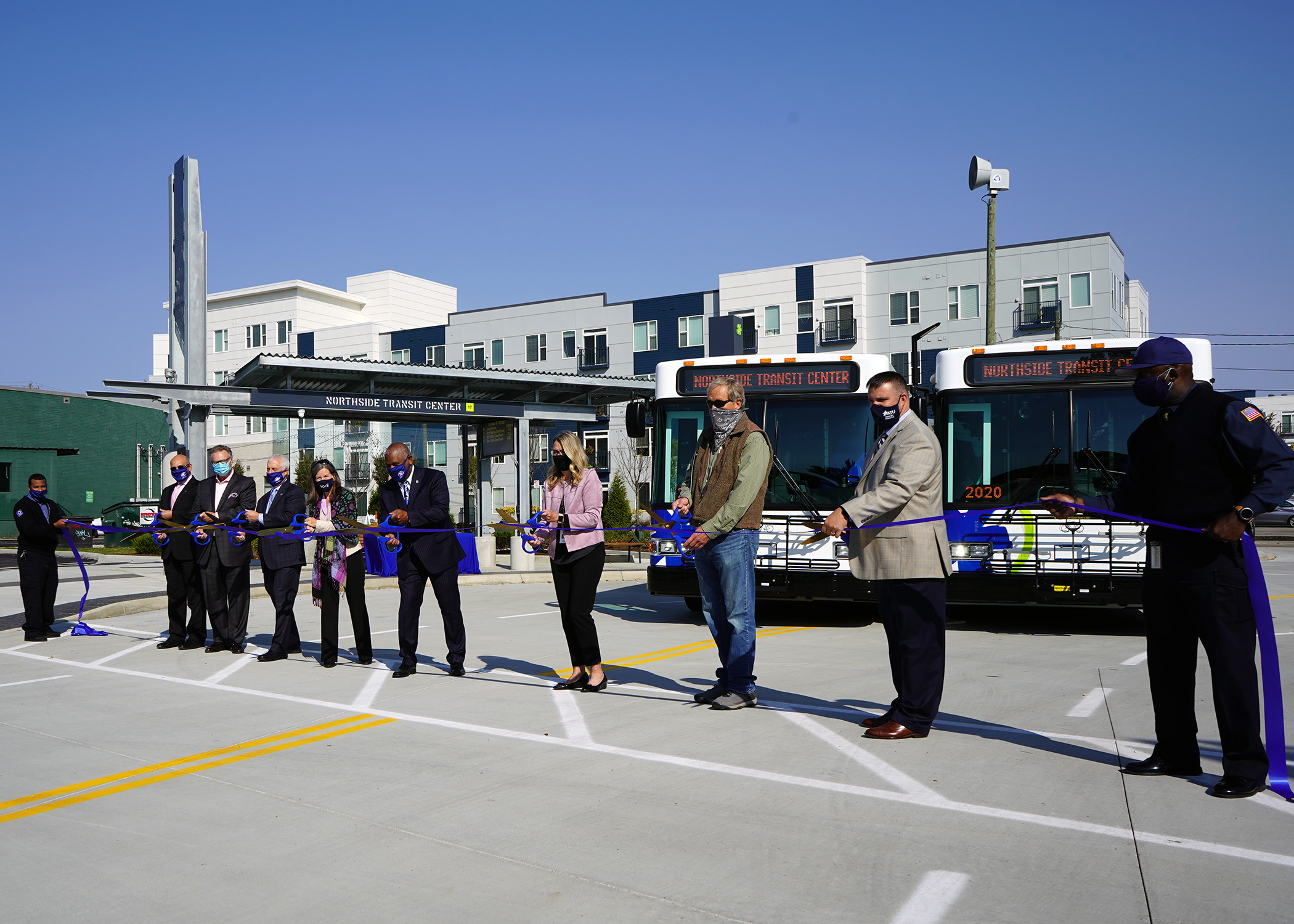 Northside Transit Center Ribbon Cutting